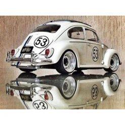 Herbie VW i diamond paint