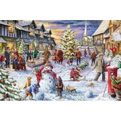 Jul i byen - i diamond paint